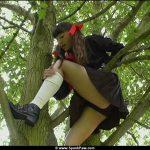 Rosaleen Young Spanked Schoolgirl