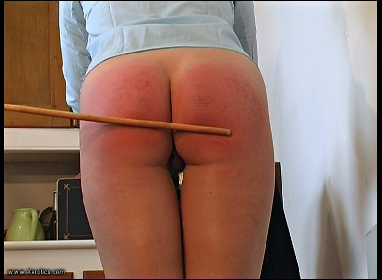 Rosaleen Young Caned by Elizabeth Simpson